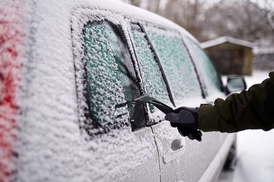 Why Deicing Your Windscreen Incorrectly Could Land You A Fine
